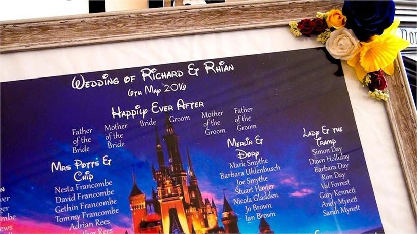disney-castle-wedding-table-plan