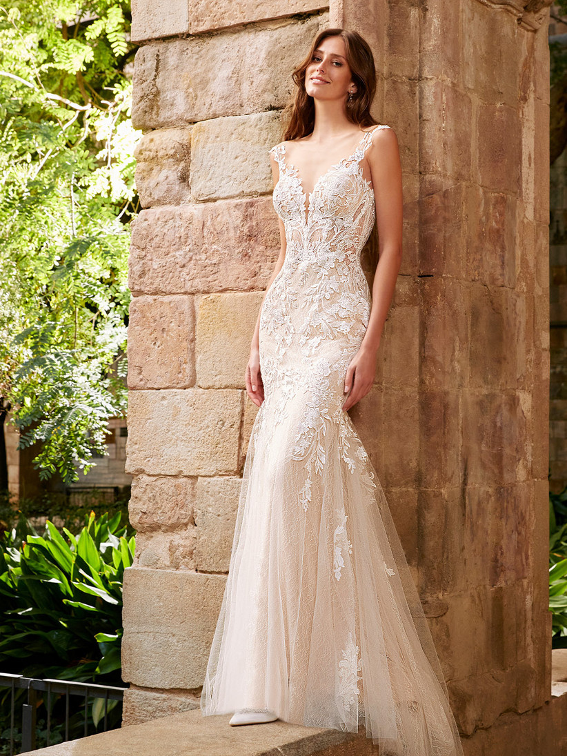 Etoile Stephanie mermaid wedding dress from the front
