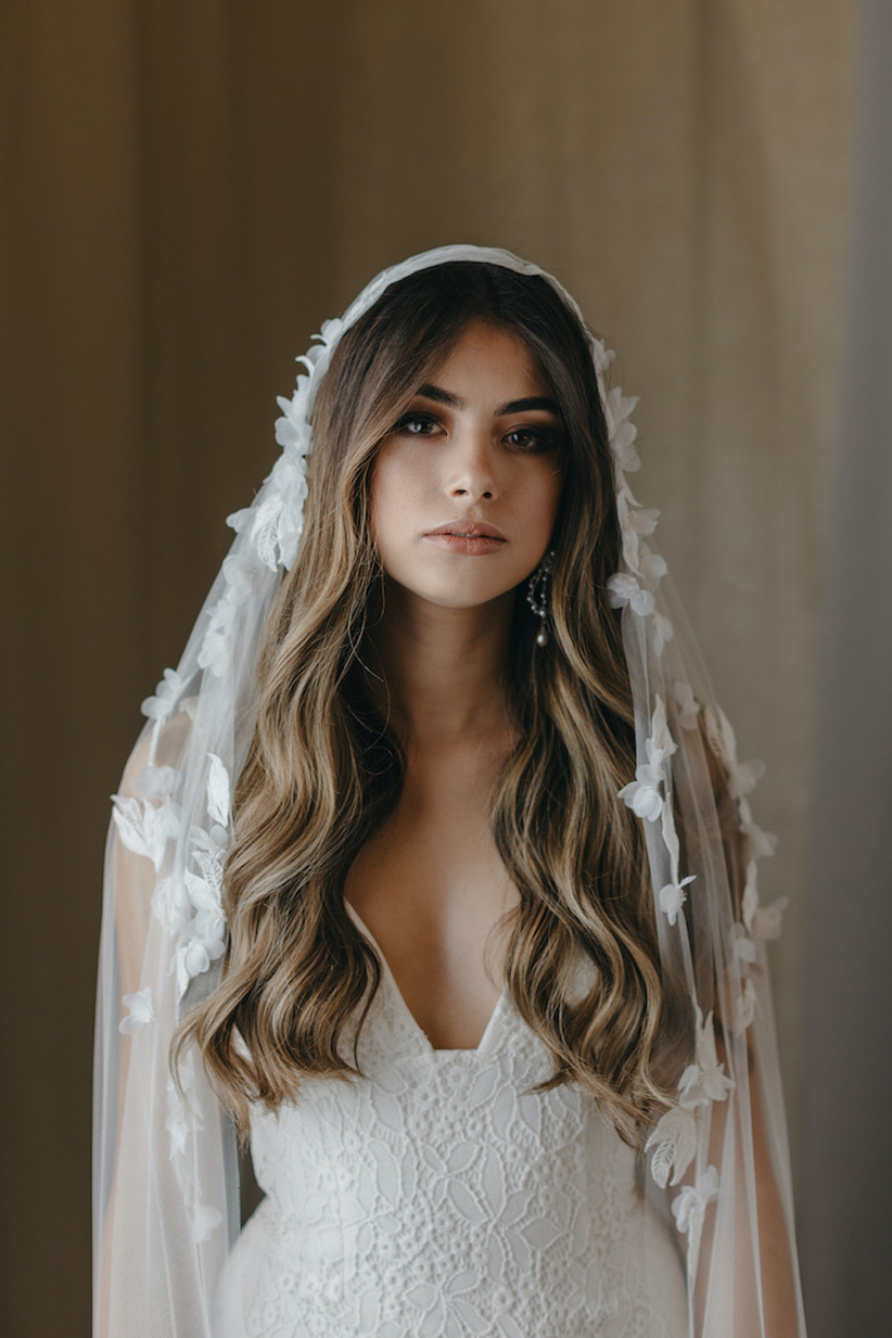 Best wedding hairstyles for long hair 21