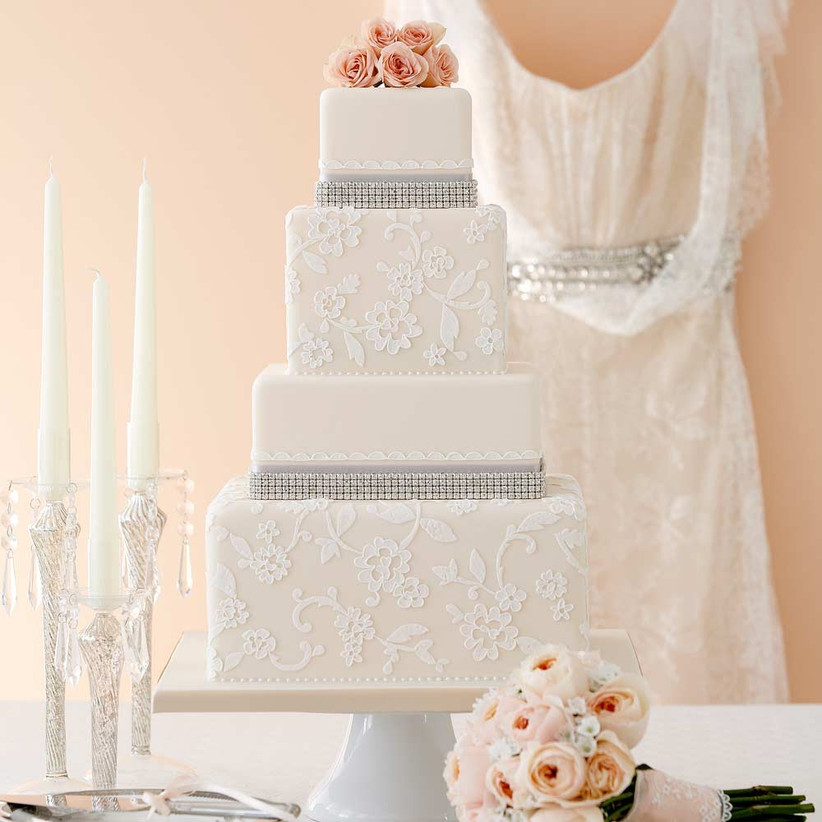 Lace Wedding Cakes That Will Take Your Breath Away