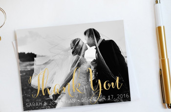A Guide to Writing Wedding Thank You Cards