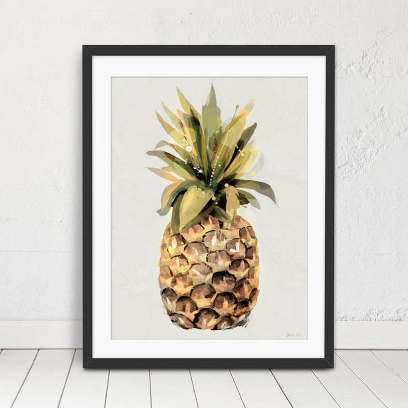 Not on the High Street Pineapple Print