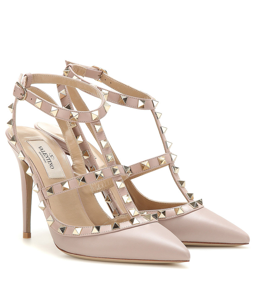 Studded Valentino wedding heels
