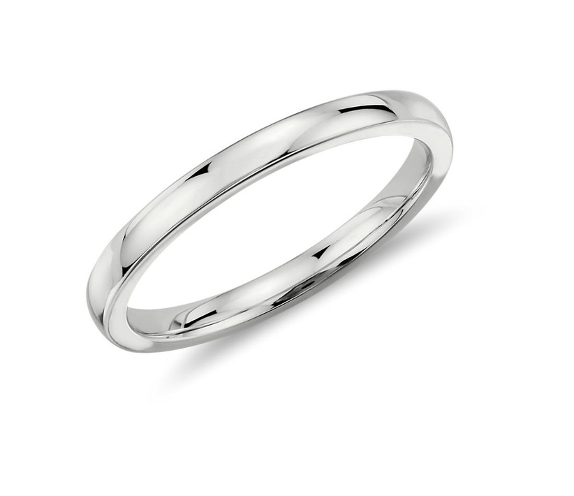 Low Dome Comfort Ring