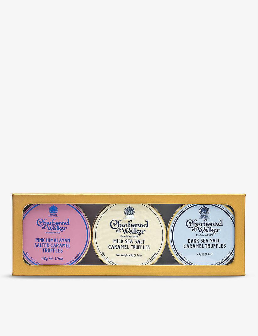 Chocolate truffle gift set