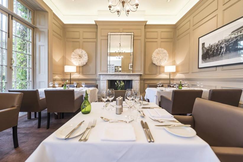 Modern dining area