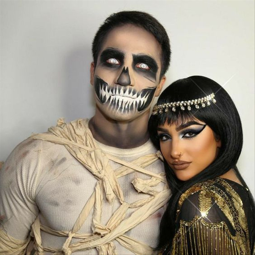Couples Halloween Costume Egyptian