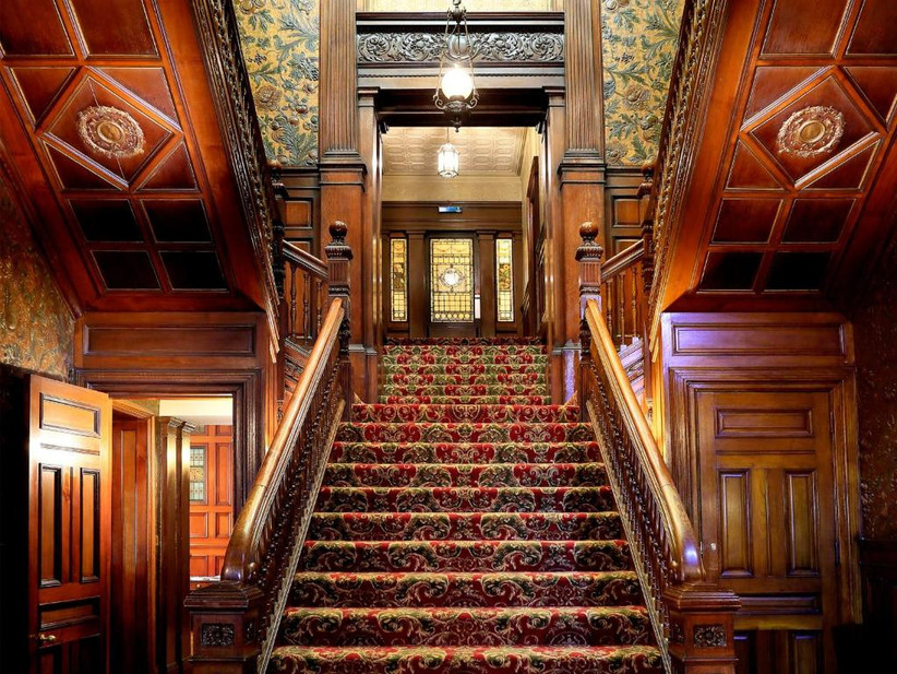 Staircase at Norwood Hall