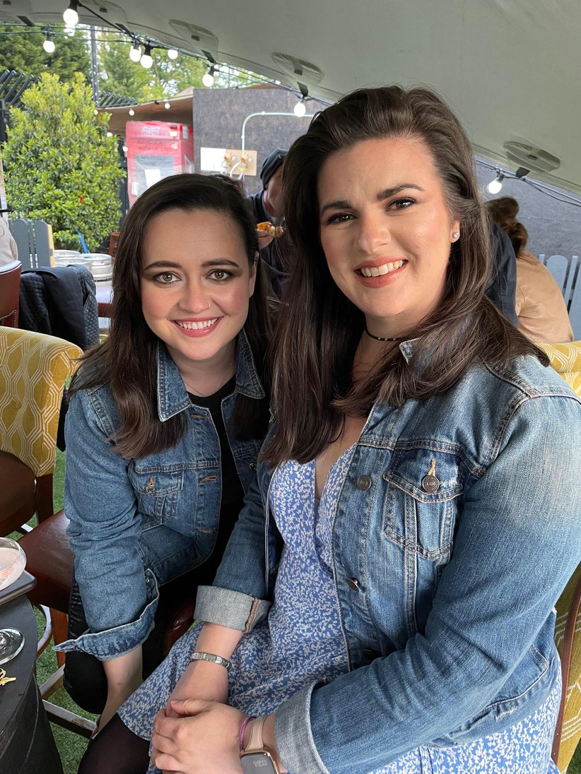 Ciara (left) and Becky (right) are marrying in 2023