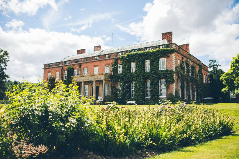 Manor hall wedding venue