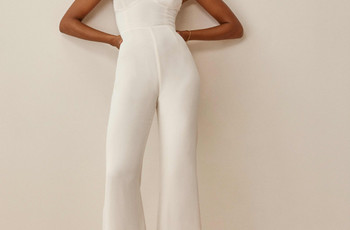 35 Stylish Wedding Jumpsuits for Brides Who Want Something Different