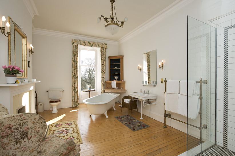 Bathroom at Kippilaw House