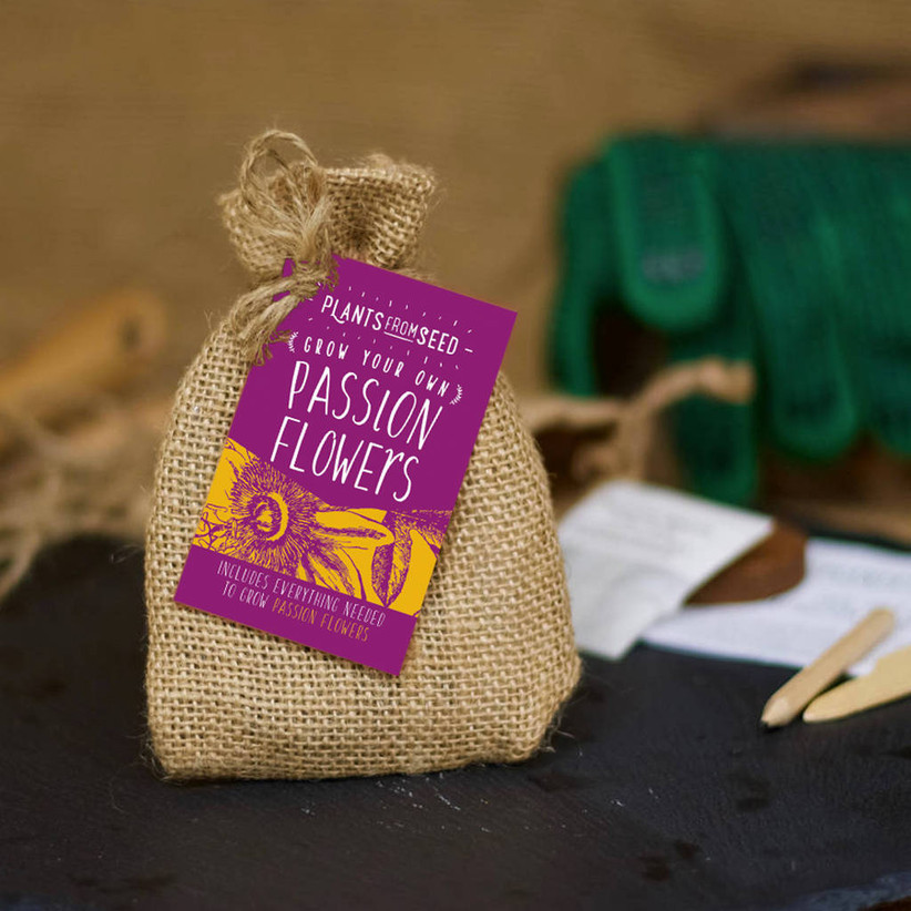 Grow your own passion flower seed kit