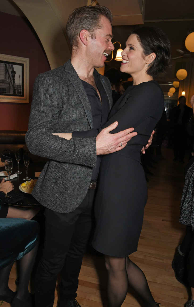 Gemma Arterton and Rory Keenan