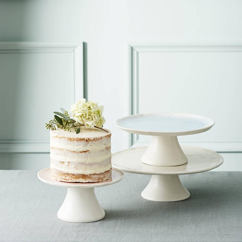 Porcelain wedding cake stand