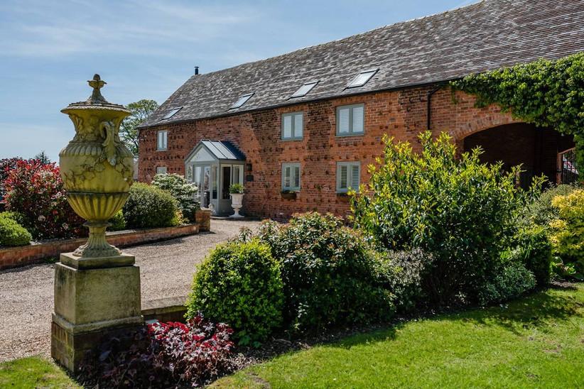 Countryside house wedding venue