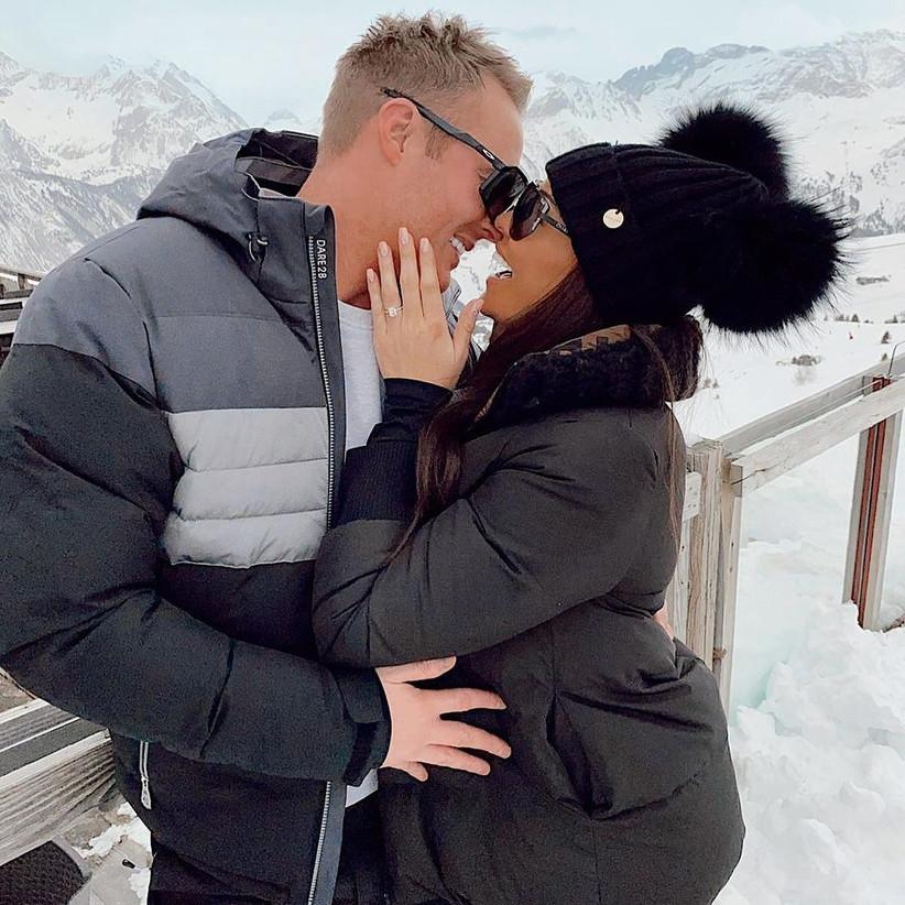 Jess Wright engaged