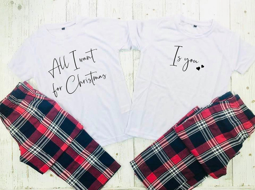 All I want for Christmas is you matching pyjamas