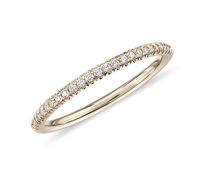 Petite Micropavé Ring