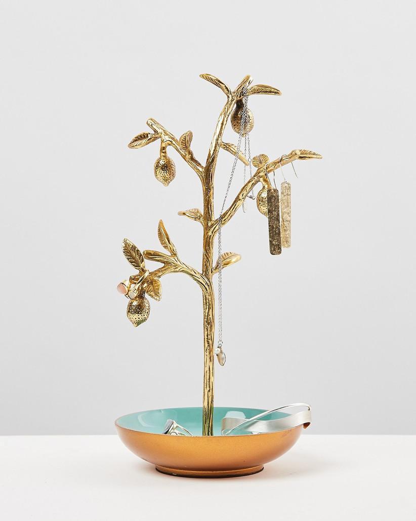 Lemon tree jewellery holder