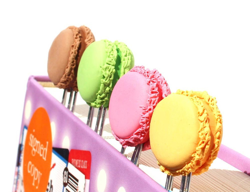 macaron-themed-bookmark