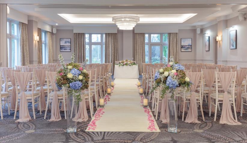 Blackburn Dunkenhalgh Wedding Ceremony