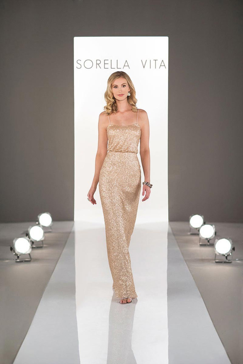 gold-bridesmaid-dress-by-sorella-vita