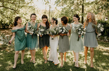 33 Chic Short Bridesmaid Dresses for 2021