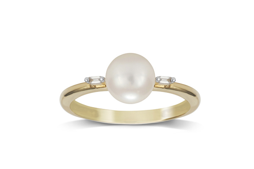 Pearl Engagement Rings