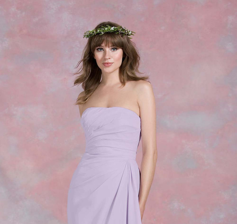 we-love-these-natural-wedding-hair-flowers-that-have-been-paired-with-a-kelsey-rose-purple-bridesmaid-dress-2