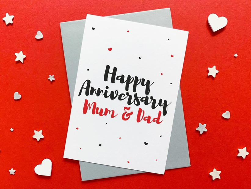 85 Wedding Anniversary Wishes To Write In An Anniversary Card Hitched Co Uk