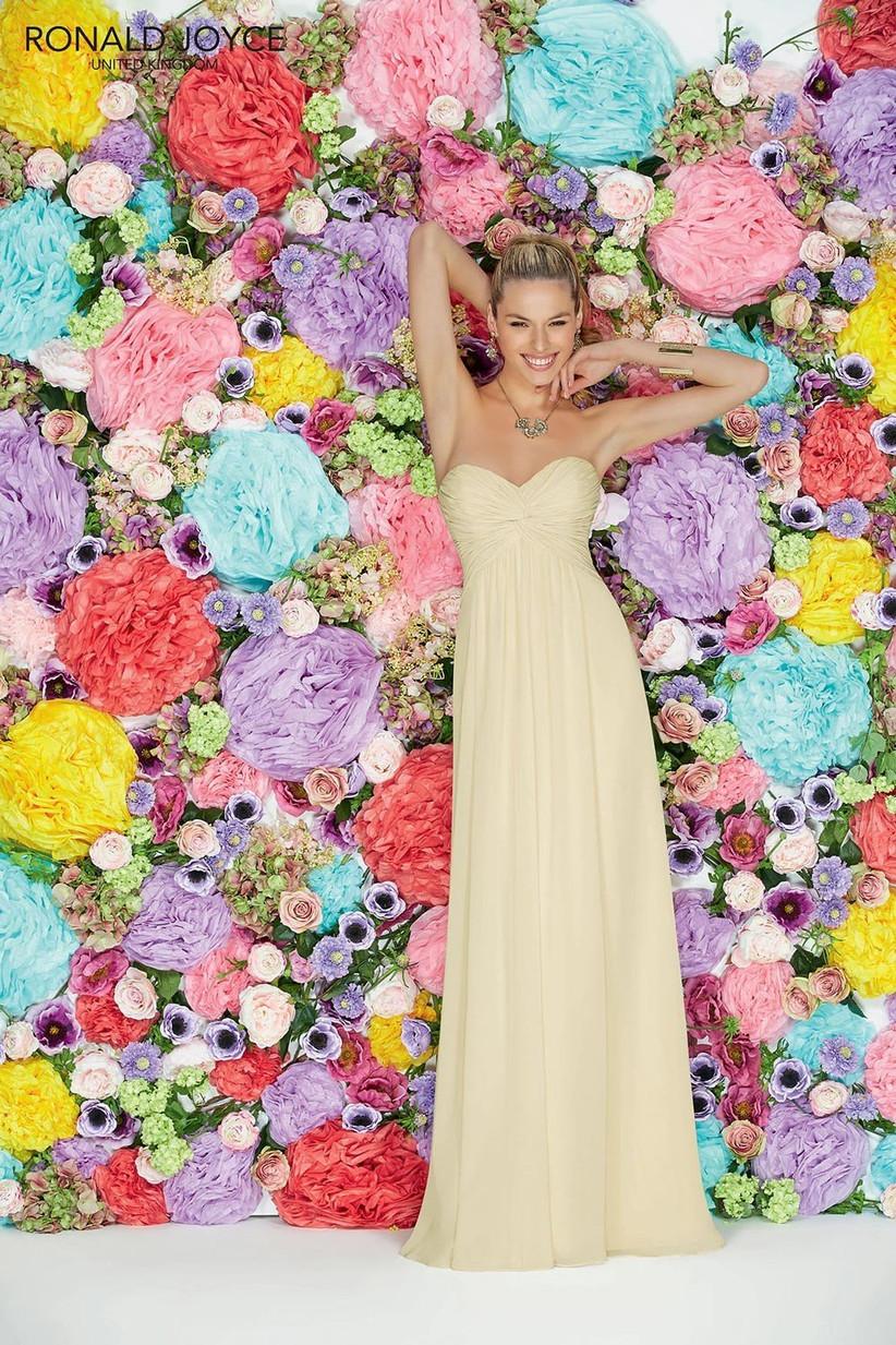 29109-yellow-bridesmaid-dress-by-ronald-joyce