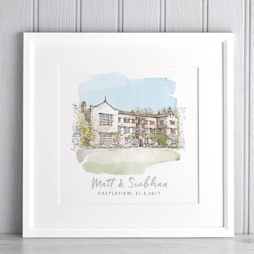 wedding-venue-sketch-gift
