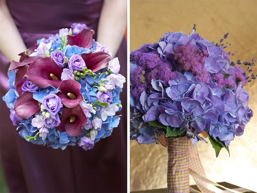 wedding-bouquets-with-hydrangeas
