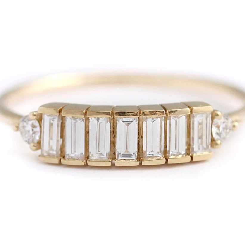 15. simple-engagement-rings-baguette-diamond-lineup-tomfoolery