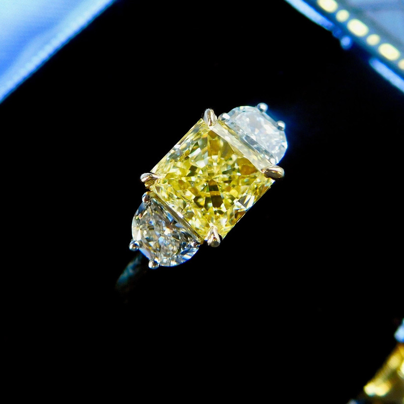 Radient cut diamond