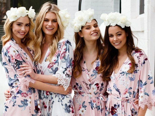 The Best Bride and Bridesmaid Dressing Gowns and Pyjamas for the Wedding Morning