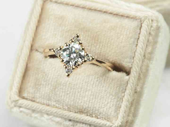 30 Best Moissanite Engagement Rings 2021 Hitched Co Uk