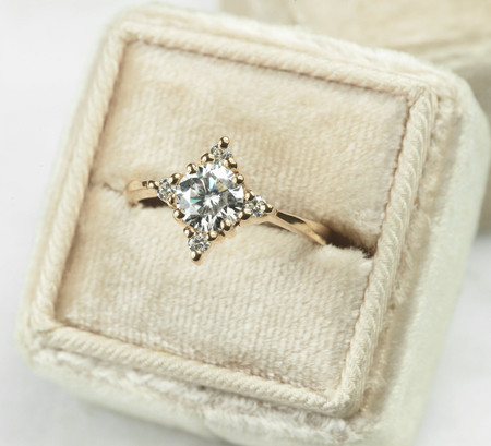 30 of the Best Moissanite Engagement Rings for Eco-Friendly Brides