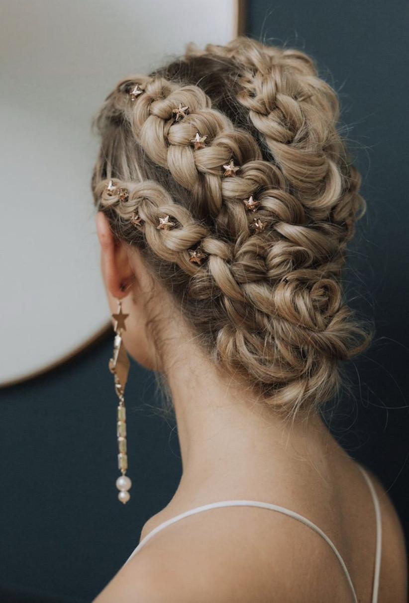 Wedding hair updo ideas 4