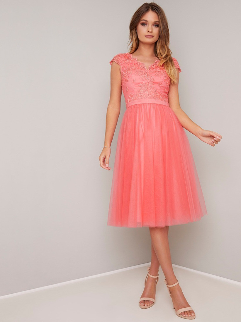 chi chi nika dress - pastel bridesmaid dresses