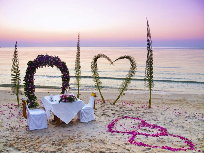 have-a-romantic-meal-for-two-for-your-honeymoon-after-your-beach-theme-wedding