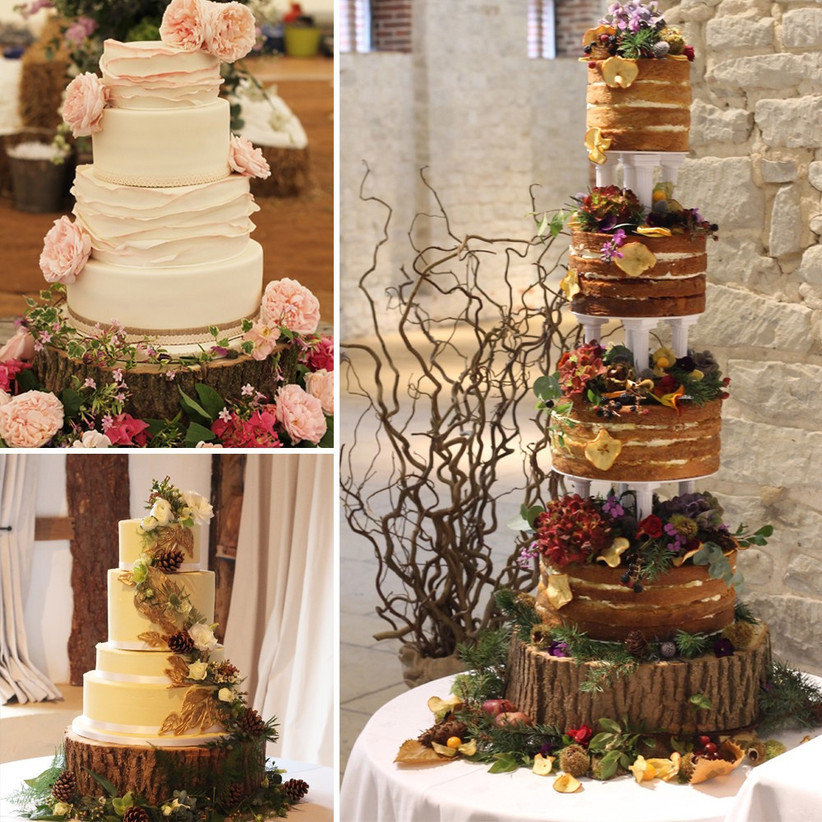 rustic-wedding-cake-displays