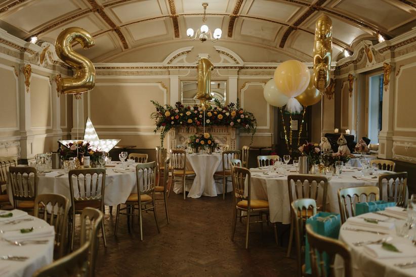 Reception at Glasgow wedding venue Sloans