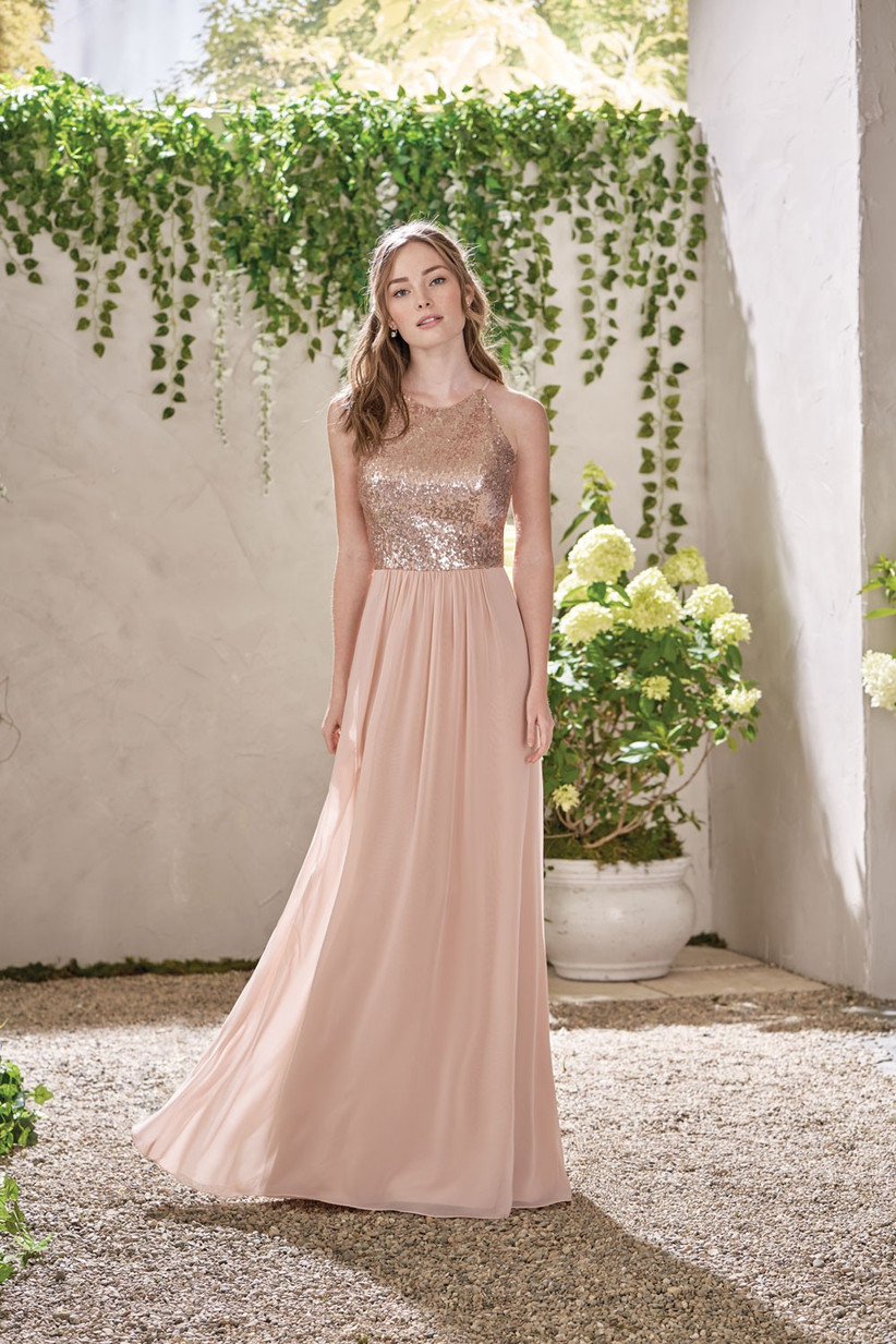 rose-gold-bridesmaids-dress-7