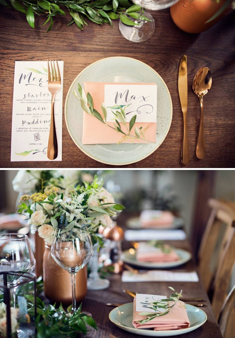 rose-gold-place-setting