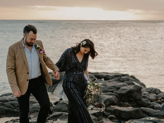 An Intimate Mauritius Destination Wedding With Two Jenny Packham Dresses