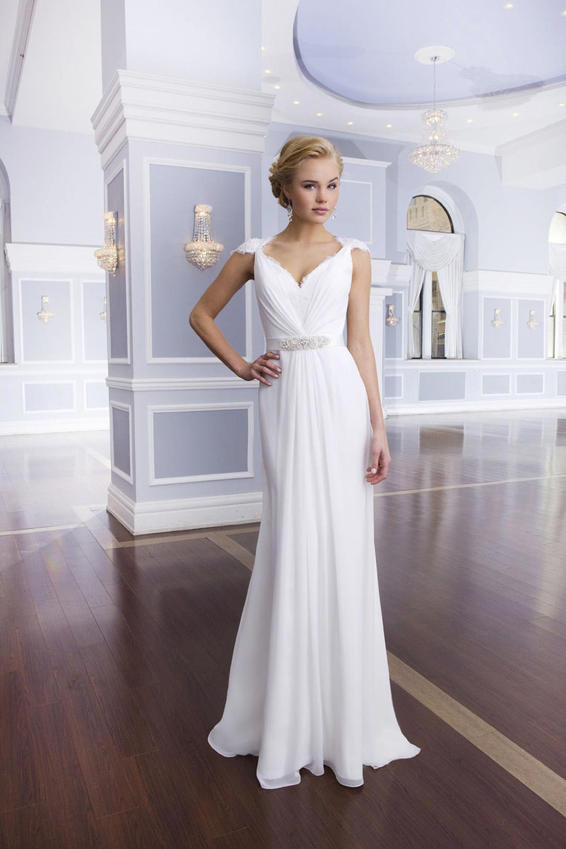 The Best Grecian Style Wedding Dresses Hitched Co Uk