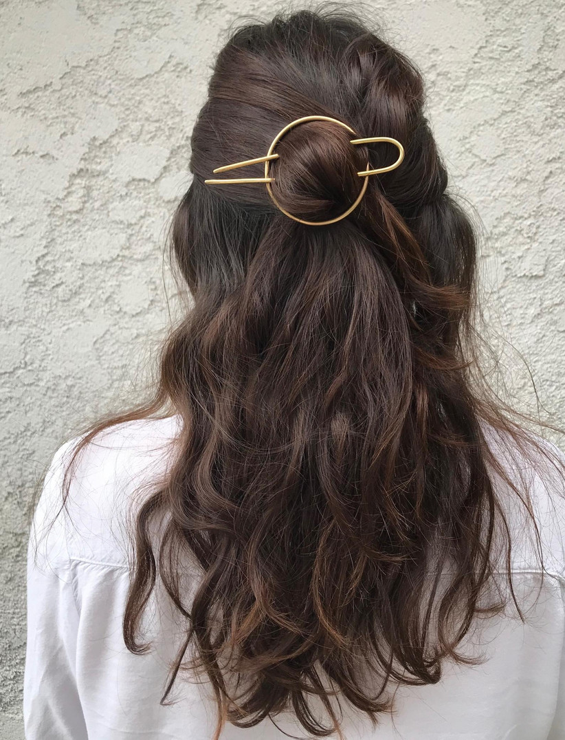 Best wedding hairstyles for long hair 31