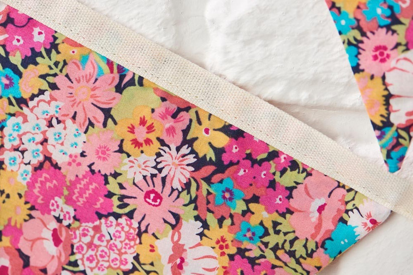 liberty-floral-fabric-for-wedding-bunting